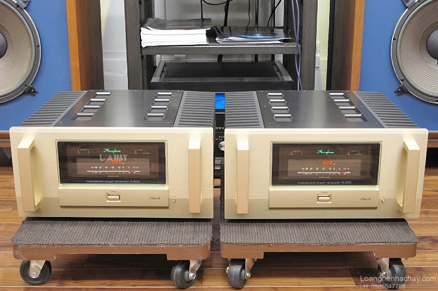 Power ampli Accuphase A-200 chat