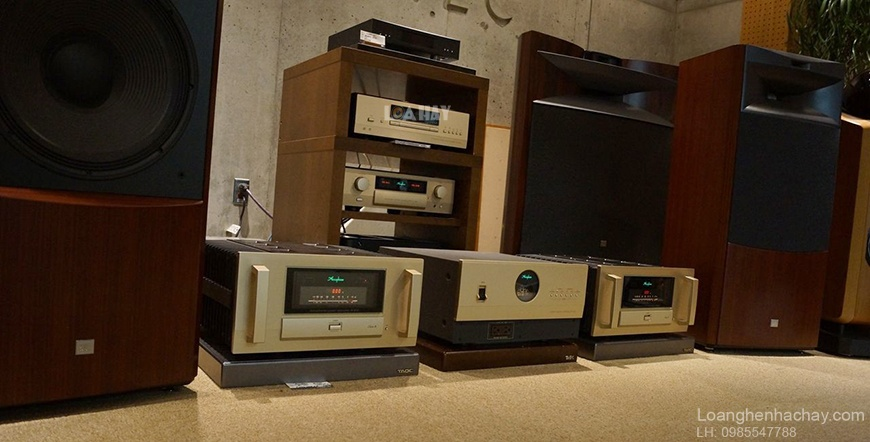 Power ampli Accuphase A-200 dep
