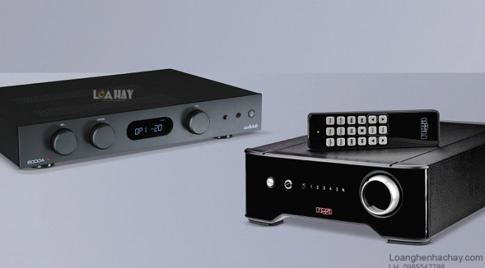 Ampli Audiolab 6000A chuan