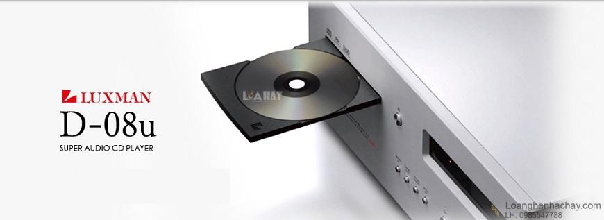 dau SACD/CD Luxman D-08U dep