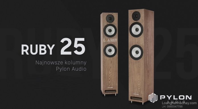 loa Pylon Audio Ruby 25 chuan