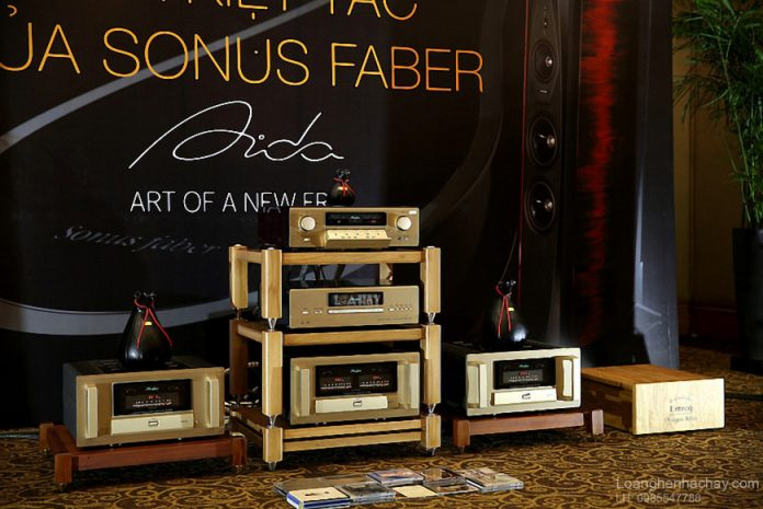 Pre ampli Accuphase C-3850 chuan