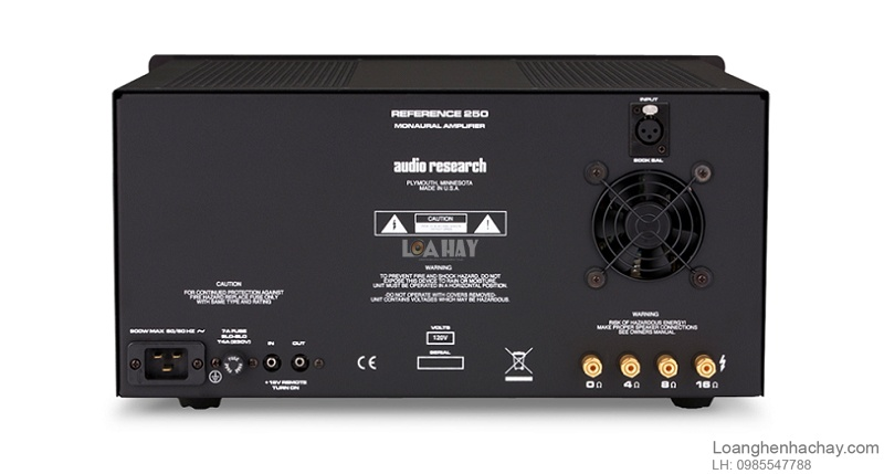 Power ampli Audio Research Reference Line 250 dep