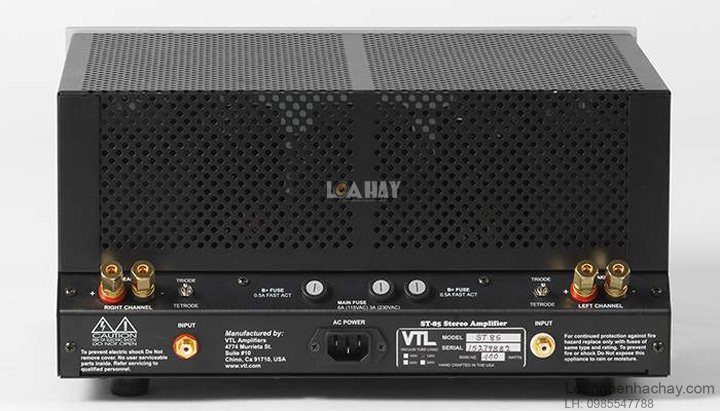 Power ampli VTL ST-85 dep