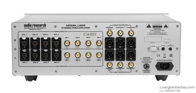 Pre ampli Audio Research LS28 dep