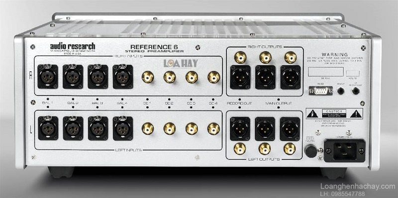 Pre ampli Audio Research REF 6 dep