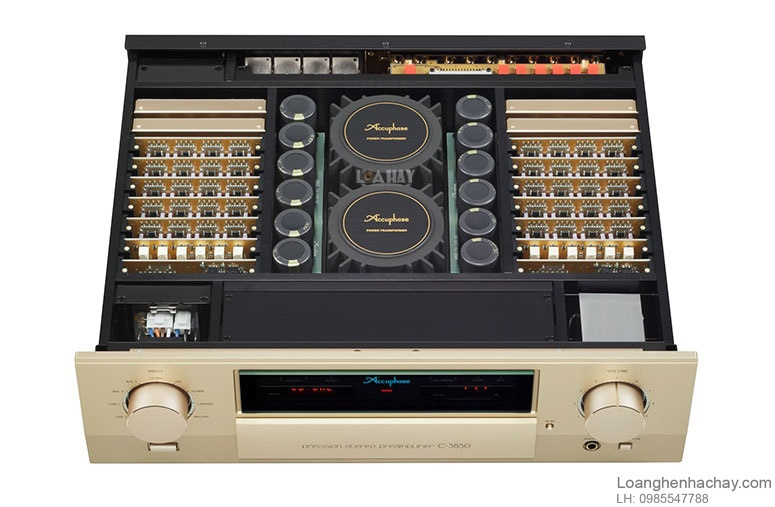 Pre ampli Accuphase C-3850 tot