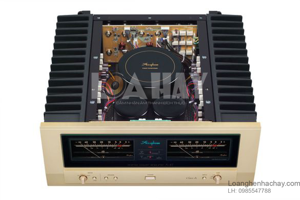 Ampli Accuphase A-47 ben trong loanghenhachay