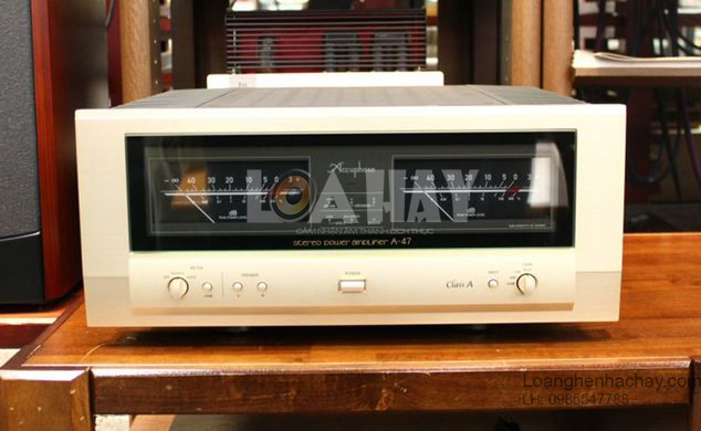 Ampli Accuphase A-47 tot loanghenhachay