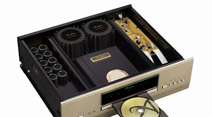 Dau CD-SA Accuphase DP-950 ben trong loanghenhachay
