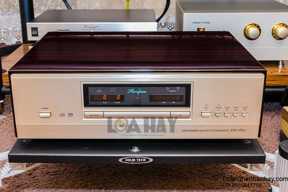 Dau CD-SA Accuphase DP-950 hay loanghenhachay