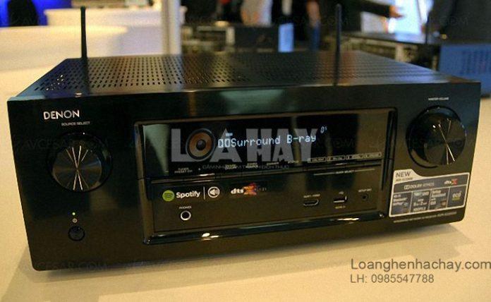 Ampli Denon AVR-X2200W chat loanghenhachay