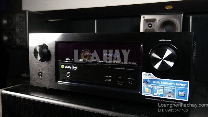 Ampli Denon AVR-X3100W chat luong loanghenhachay