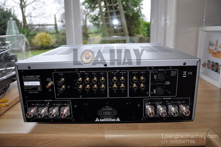 Ampli Luxman L-505UXII mat sau loanghenhachay