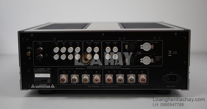 Ampli Luxman L-507UXII mat sau loanghenhachay