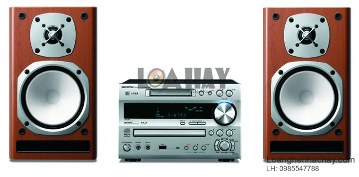 Dan am thanh mini Onkyo FR-N7FX loanghenhachay