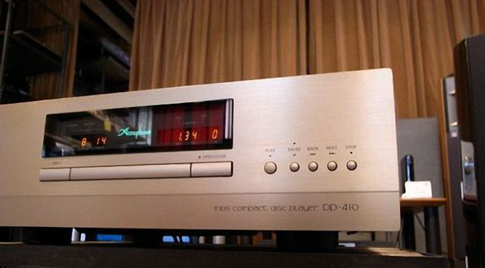Dau CD Accuphase DP-410 dep