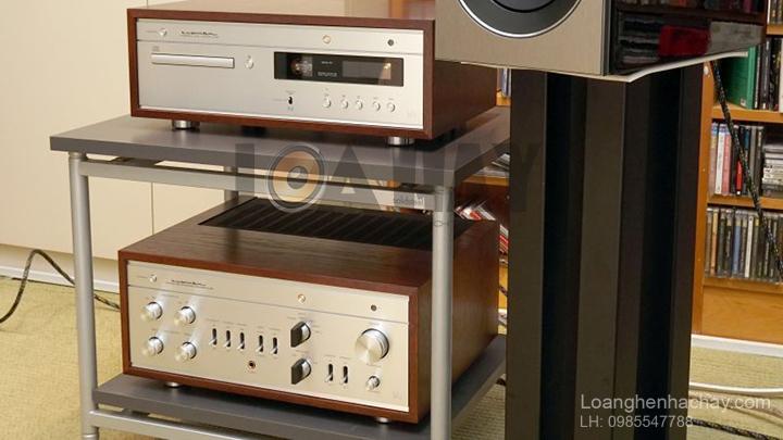 Dau CD/SACD Luxman D-380 tot loanghenhachay