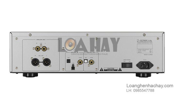 Dau SACD/CD Luxman D-05U mat sau loanghenhachay