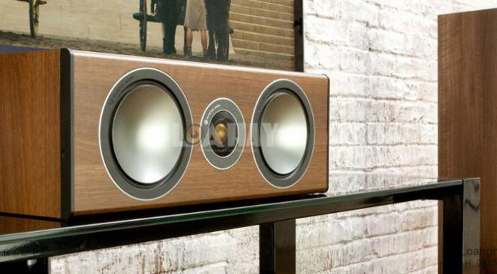 Loa Monitor Audio Bronze Centre chat loanghenhachay