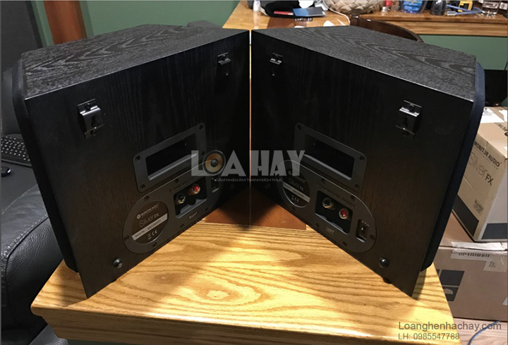 Loa Monitor Audio Silver FX mat sau loanghenhachay