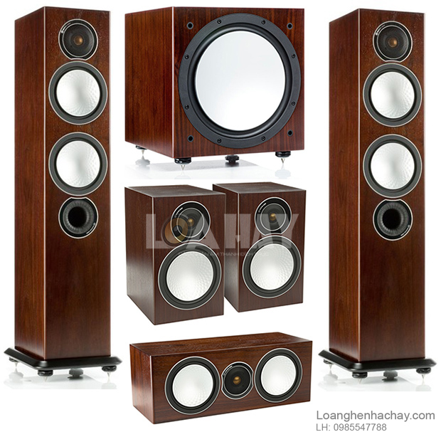 Loa Monitor Audio Silver W-12 tot loanghenhachay