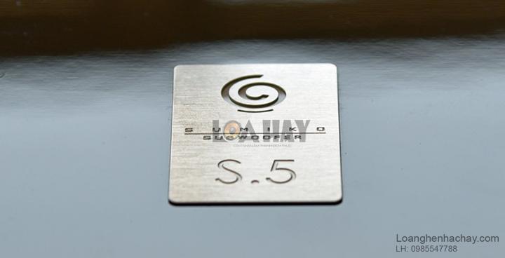 Loa Sumiko Subwoofer S.5 logo loanghenhachay
