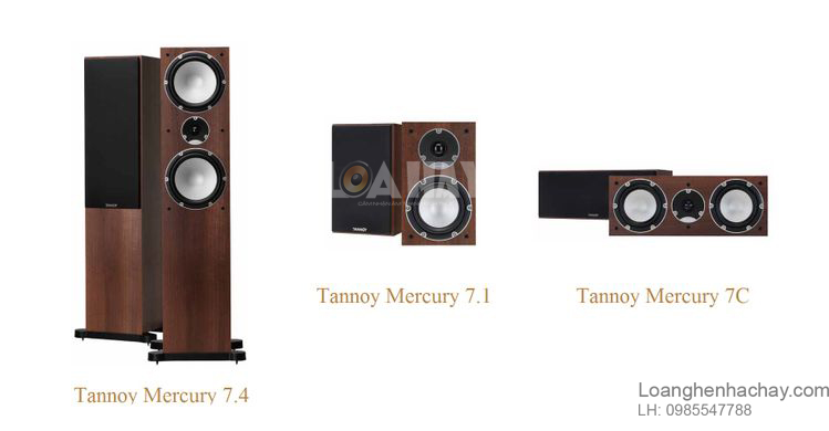 Loa Tannoy Mercury 7C trong dong loanghenhachay