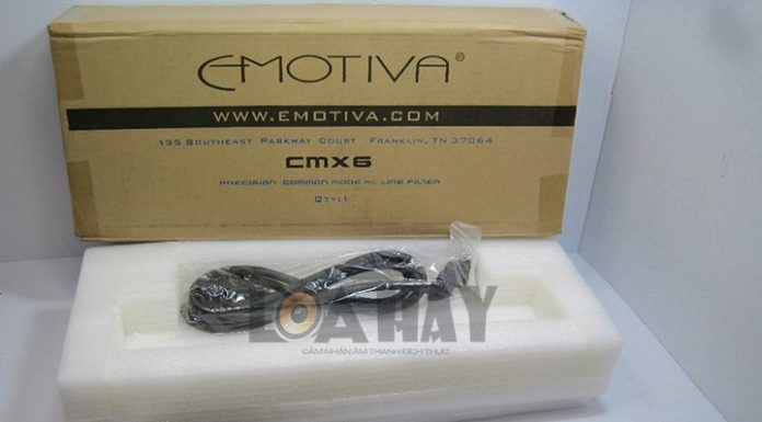 O Cam Emotiva CMX-6 loanghenhachay