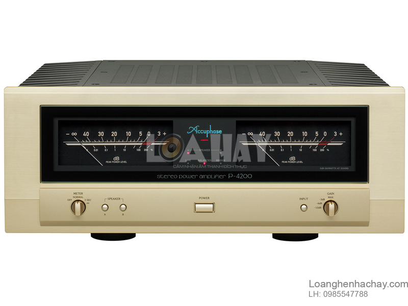 Power ampli Accuphase P-4200 loanghenhachay
