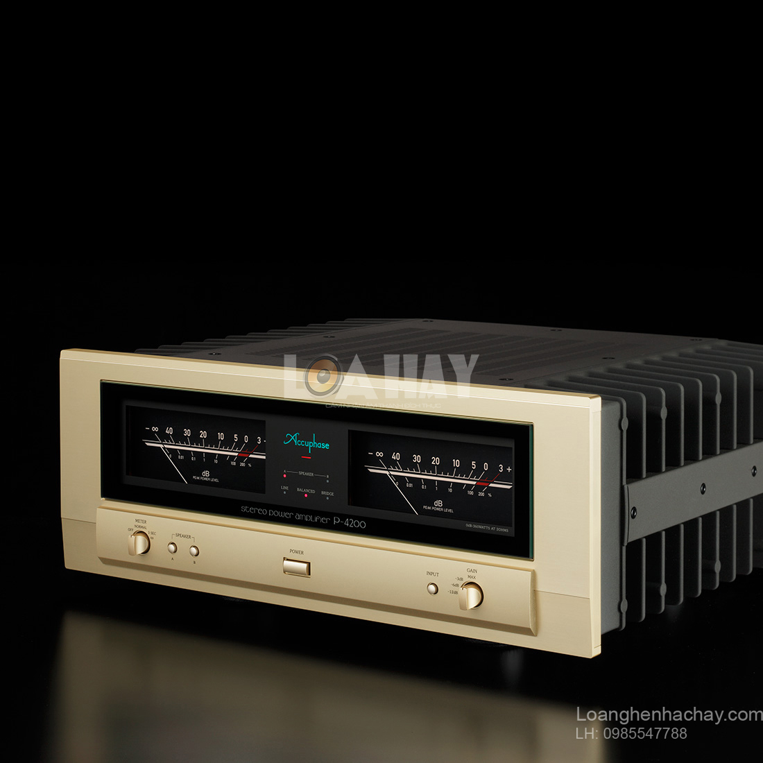 Power ampli Accuphase P-4200 tot loanghenhachay