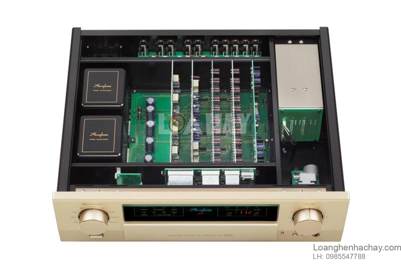 Pre ampli Accuphase C-2120 ben trong loanghenhachay