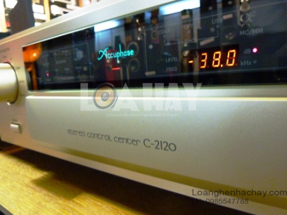 Pre ampli Accuphase C-2120 tot loanghenhachay