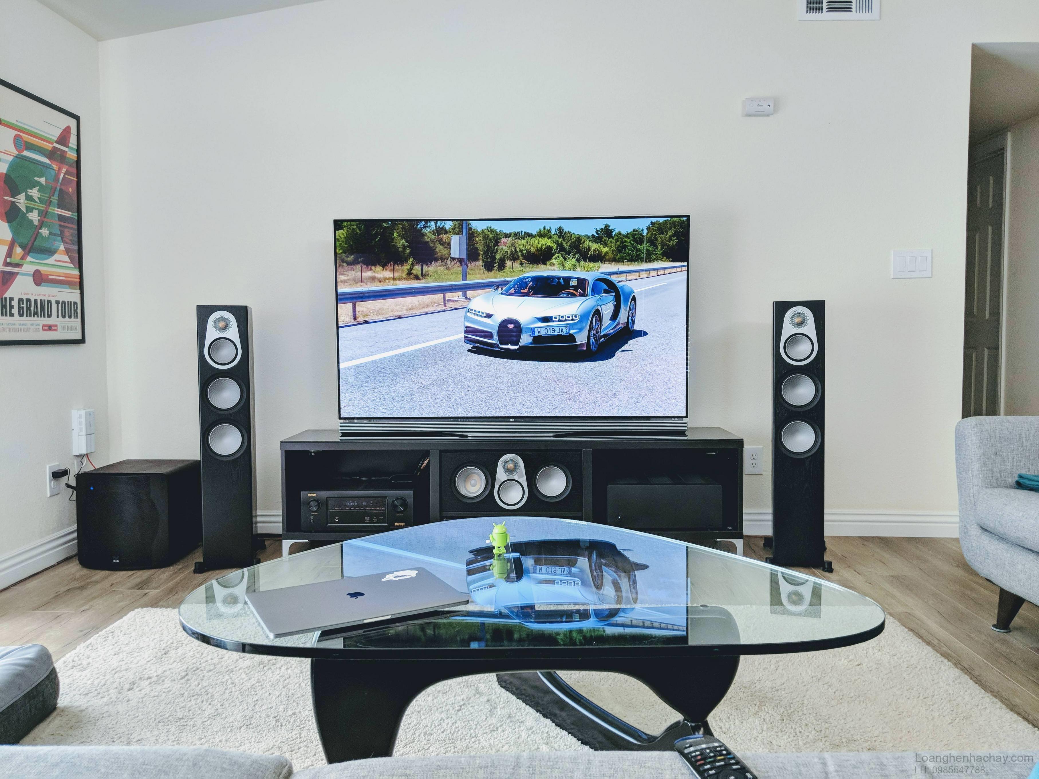 loa Monitor Audio Silver C350 black