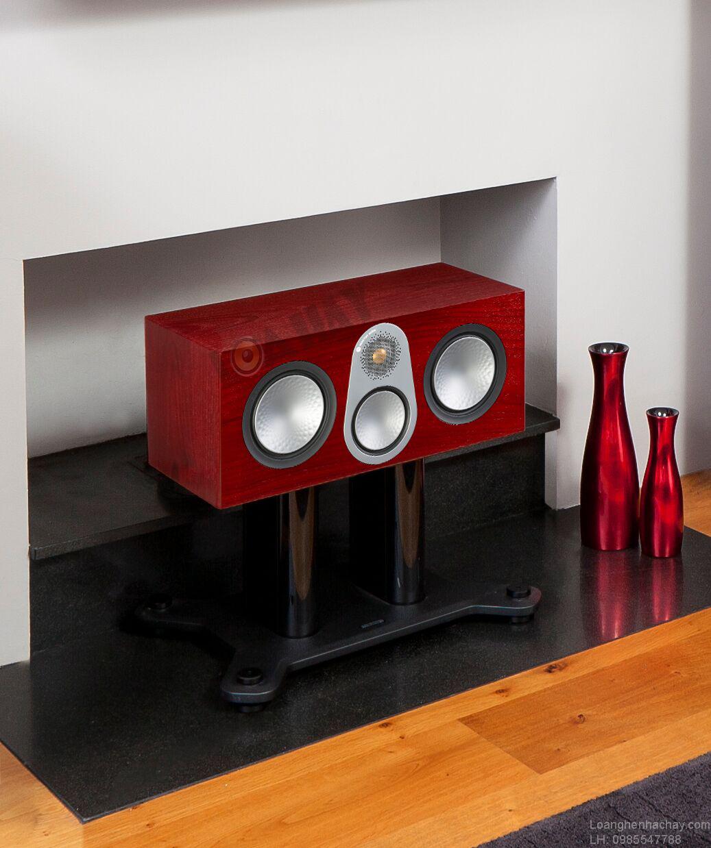 loa Monitor Audio Silver C350 red