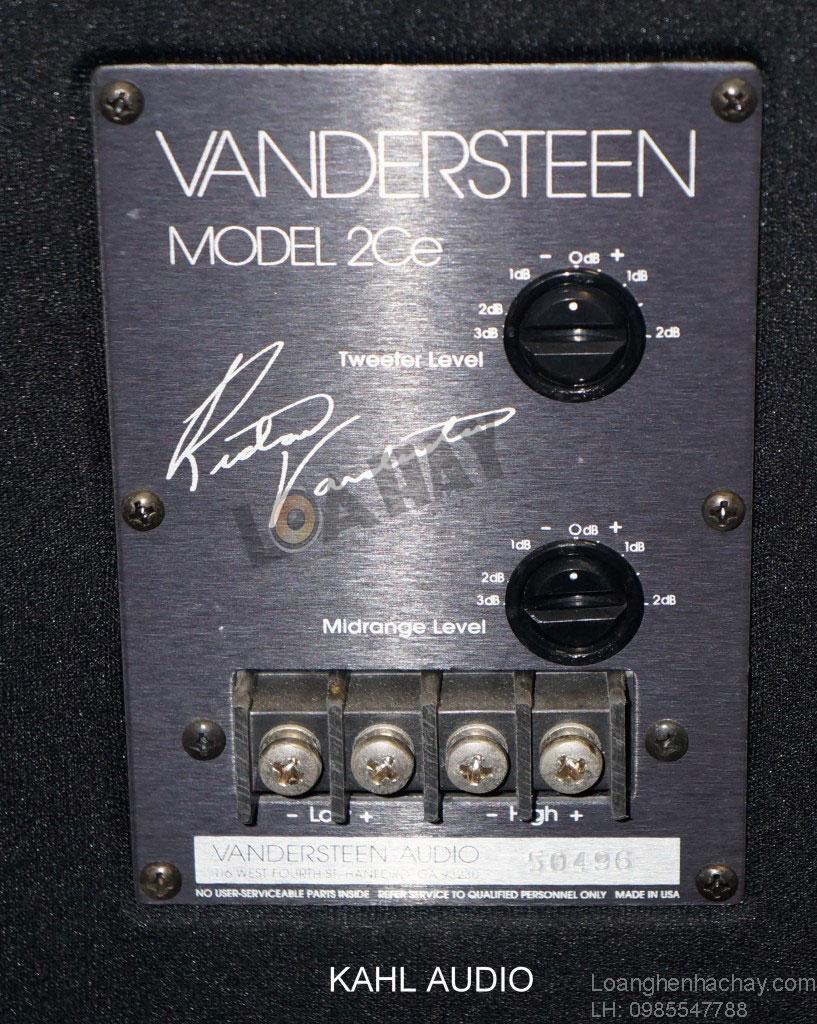 Loa Vandersteen Model 2Ce Signature II can canh
