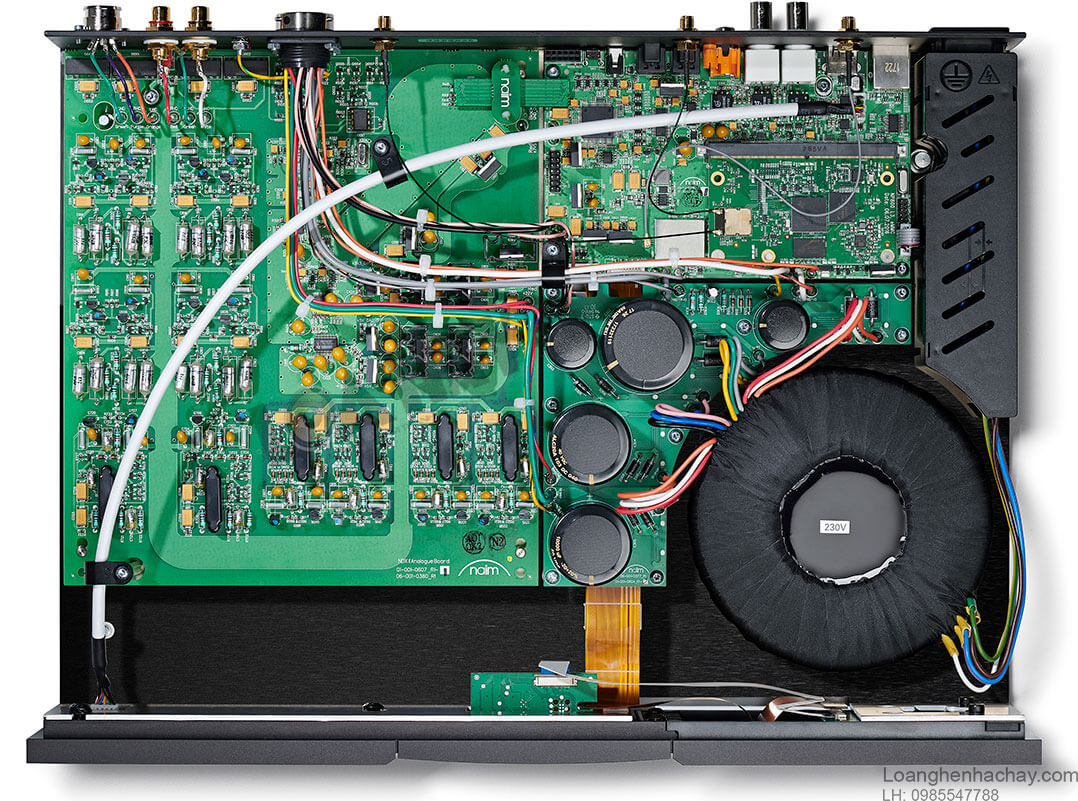 Power ampli Naim NAP 500DR chi tiet