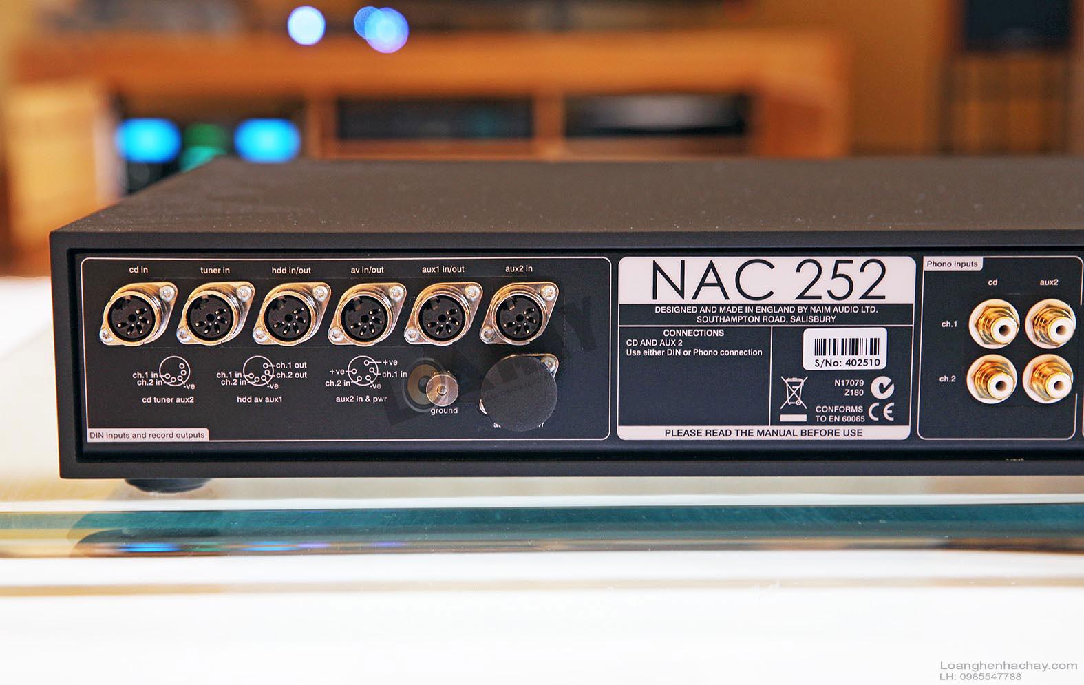 Pre ampli Naim NAC 252 mat sau
