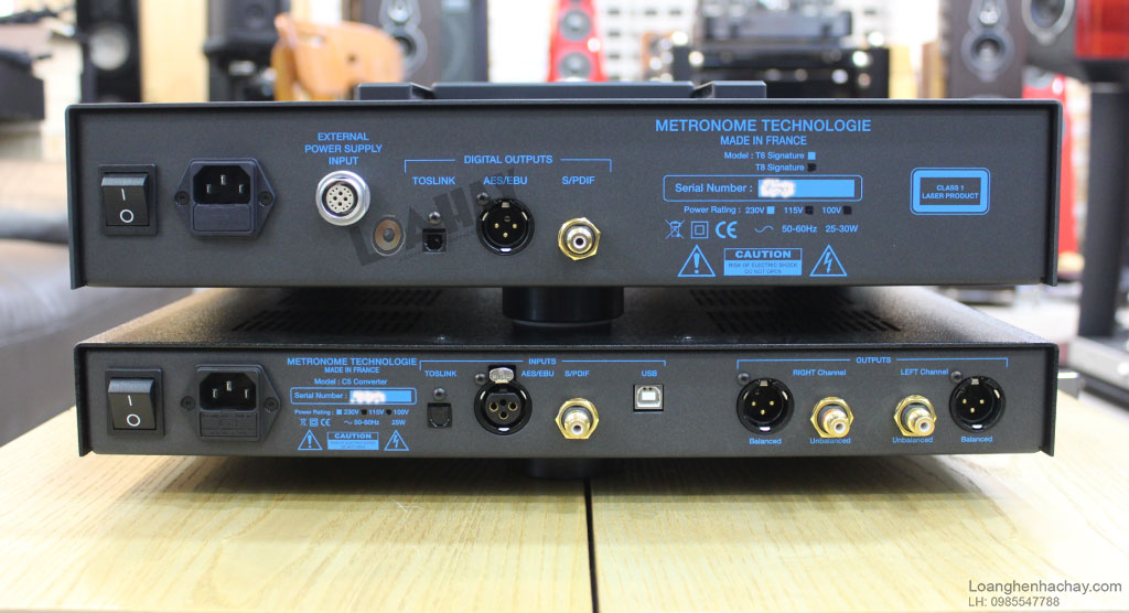 dau CD transport Metronome T6 mat sau