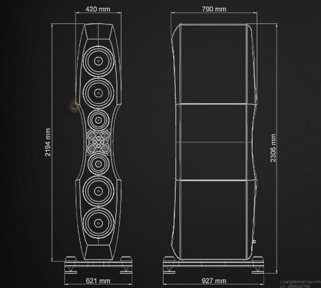 loa Kharma Enigma Veyron EV 1D ban ve