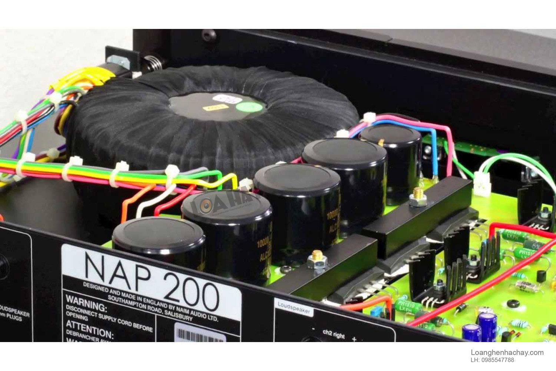 power ampli Naim NAP 200 DR chi tiet