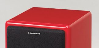 loa scansonic s4 white red