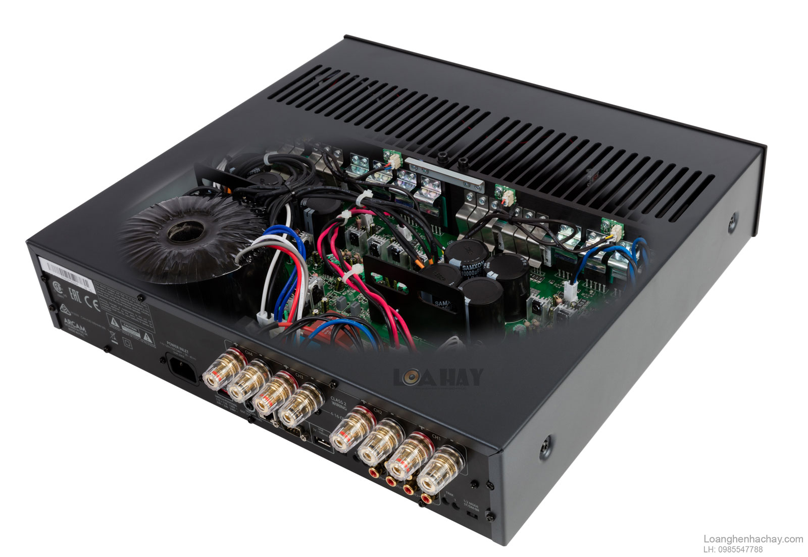 power ampli arcam FMJ P429 cut