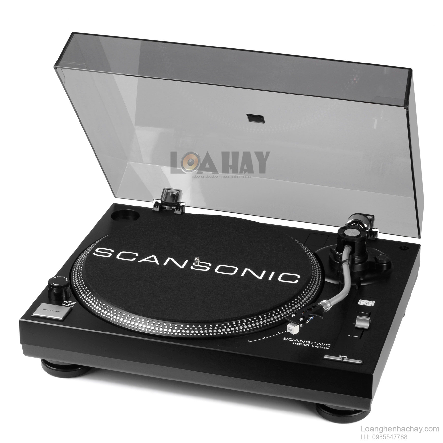 dau dia than scansonic usb100