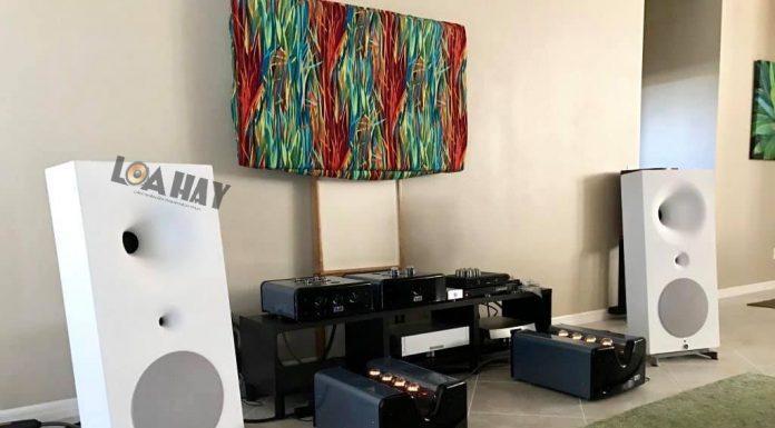 Loa loa Avantgarde Zero TA va ampli viva audio