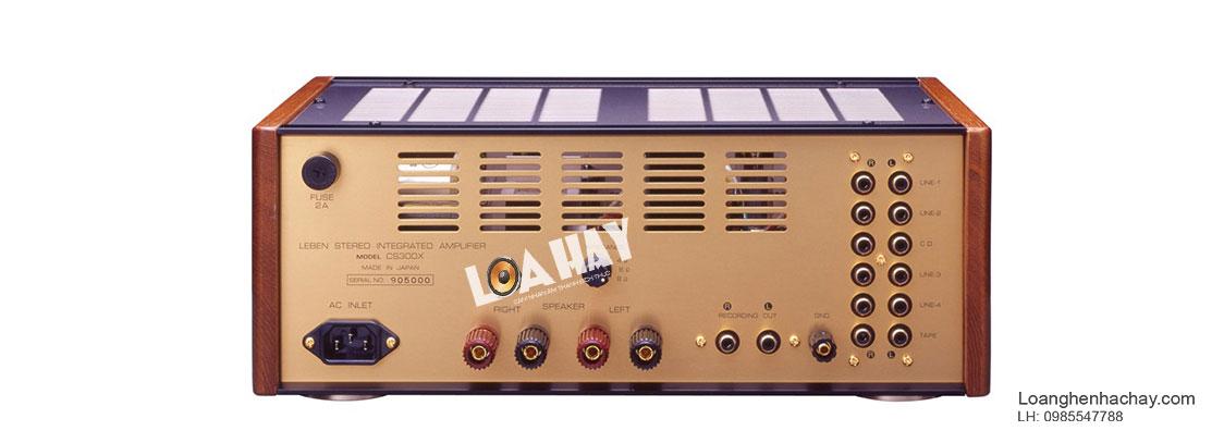 Ampli Leben CS-300XS mat sau