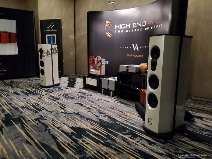AudioSolutions va ampli Vitus Audio tai Rocky Mountain
