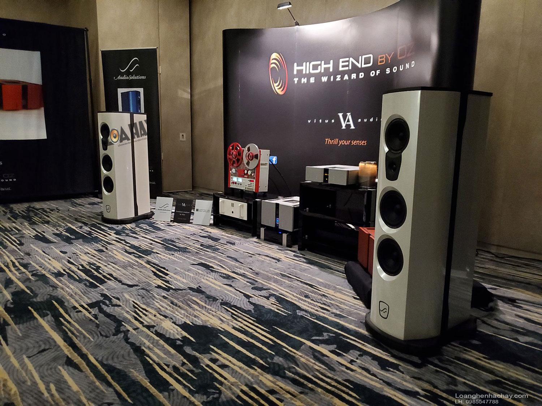 AudioSolutions va ampli Vitus Audio tai Rocky Mountain