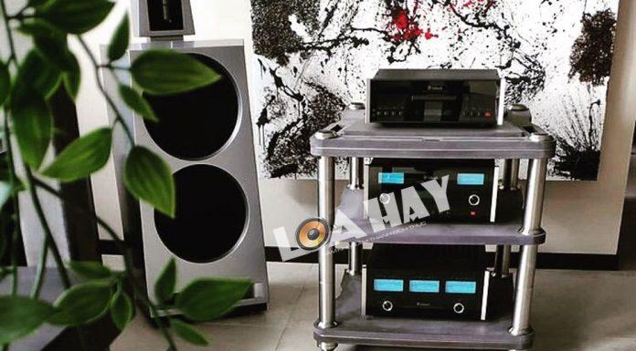 loa viva audio va ampli dau cd mcintosh