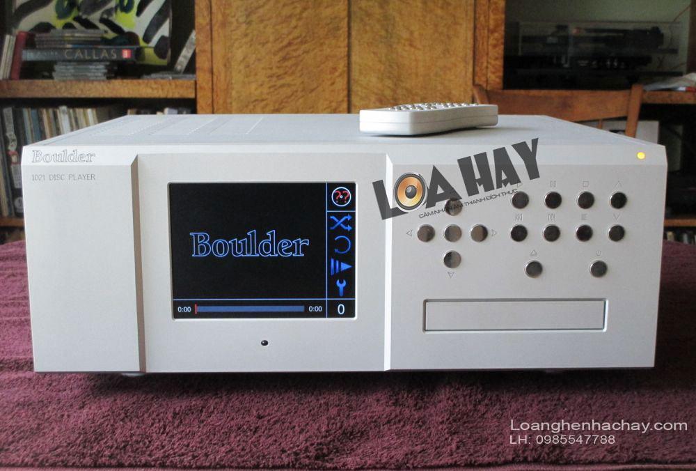 dau CD Boulder 1021 Network DISC Player mat truoc
